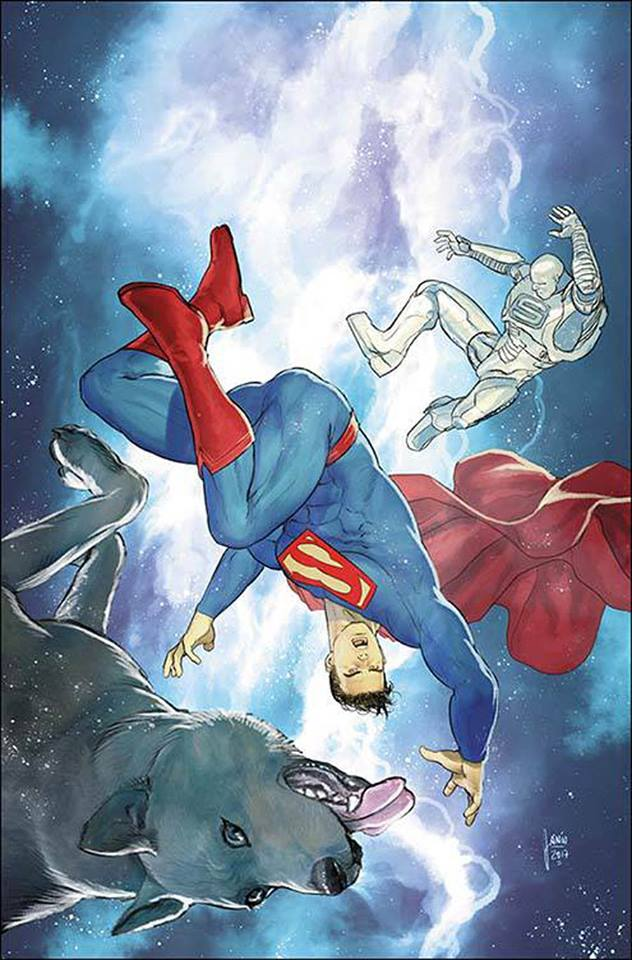 Action Comics #983 (Cover B Mikel Janin)
