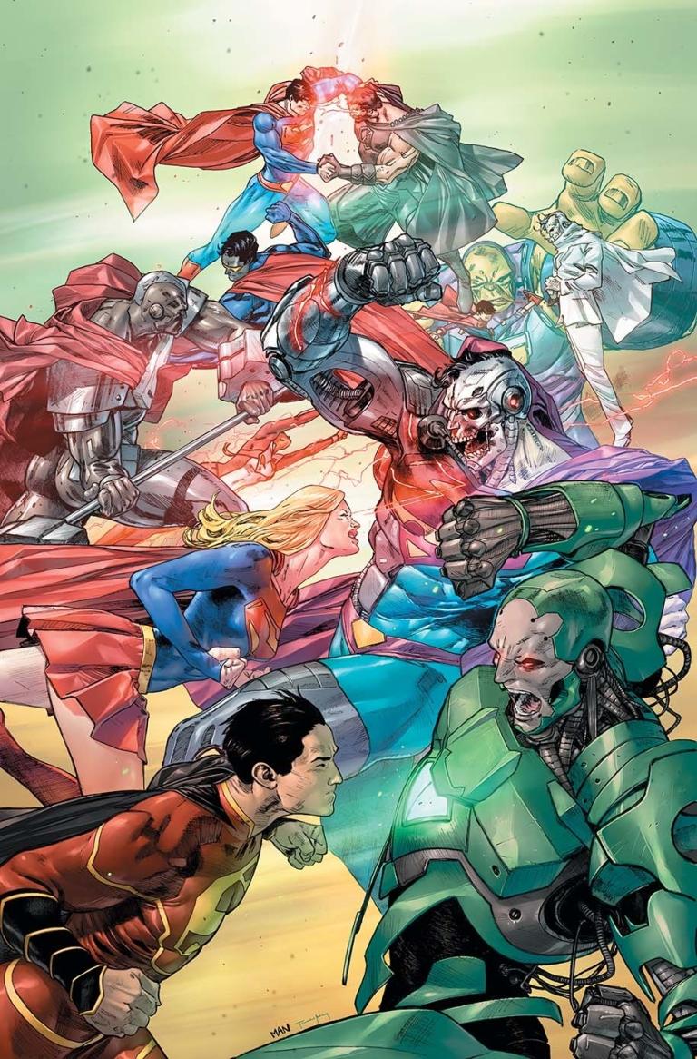 Action Comics #984 (Cover A Clay Mann)