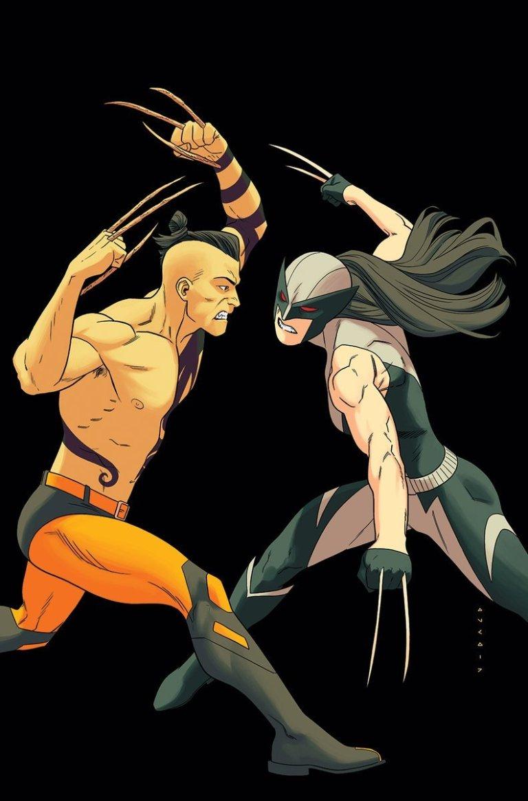 All-New Wolverine #25 (Cover B Kris Anka Lenticular Homage Variant)