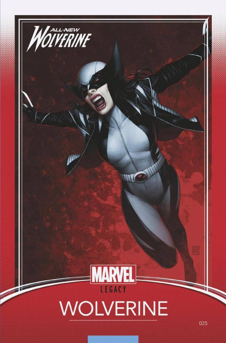 All-New Wolverine #25 (Cover E John Tyler Christopher Trading Card Variant)