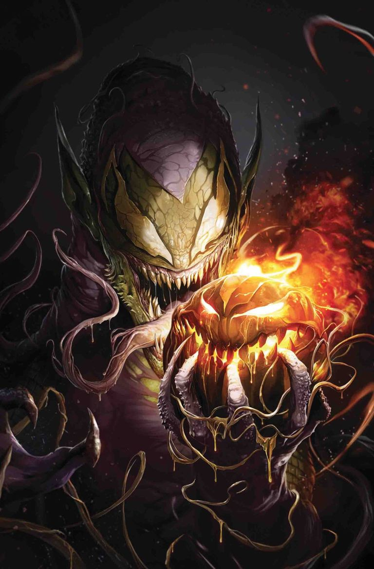 Amazing Spider-Man #32 (Cover B Francesco Mattina Venomized Green Goblin Variant)