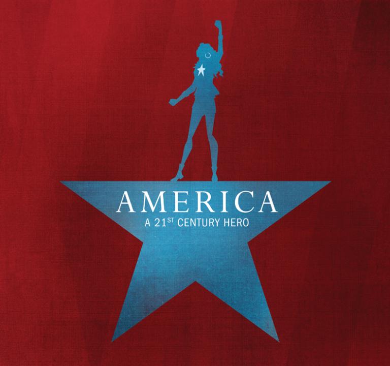 America #1 (Jeffrey Veregge Hip-Hop Variant Cover)
