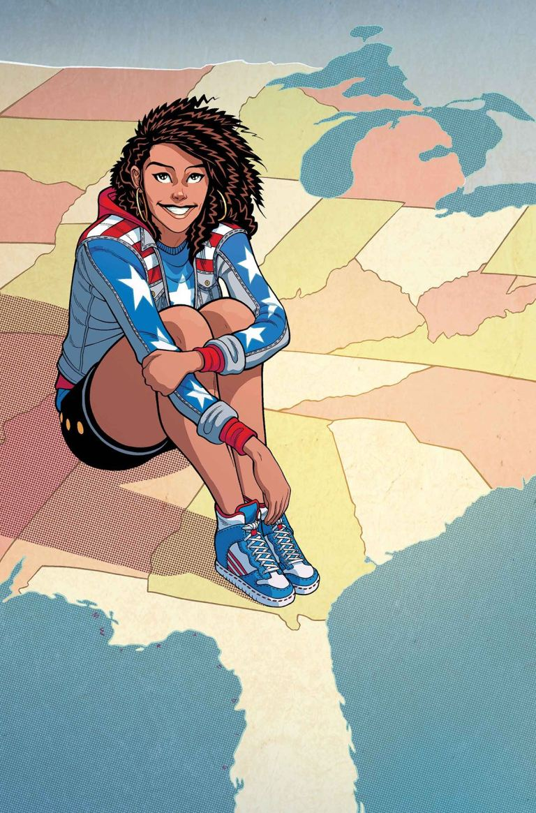 America #3 (Cover B Tradd Moore)