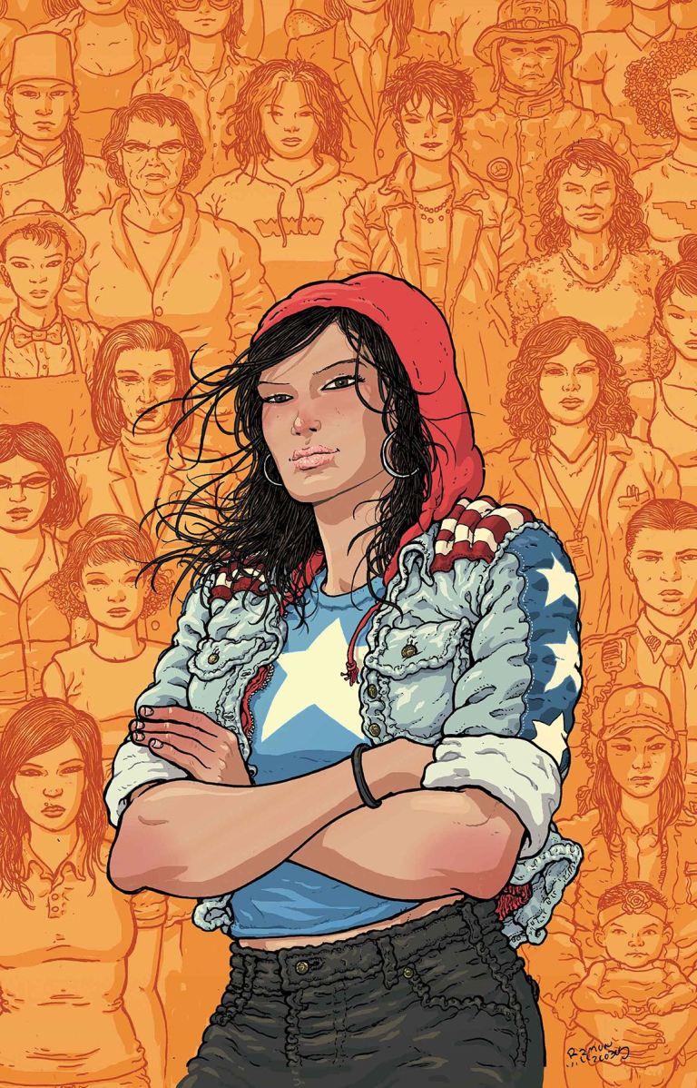America #3 (Cover C Ramon Villalobos)