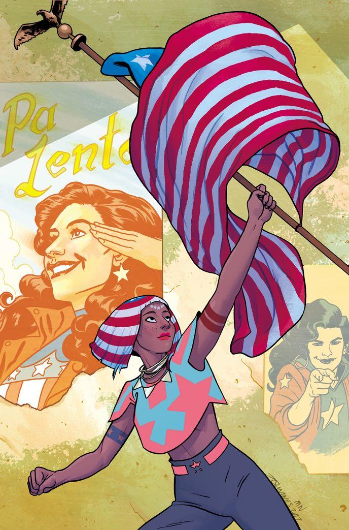 America #4 (Joe Quinones Cover)