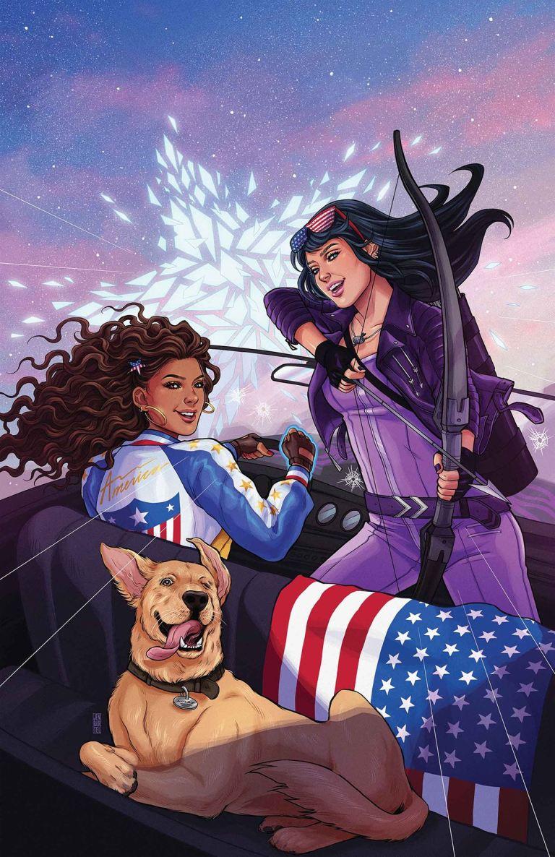 America #5 (Cover A Jen Bartel)