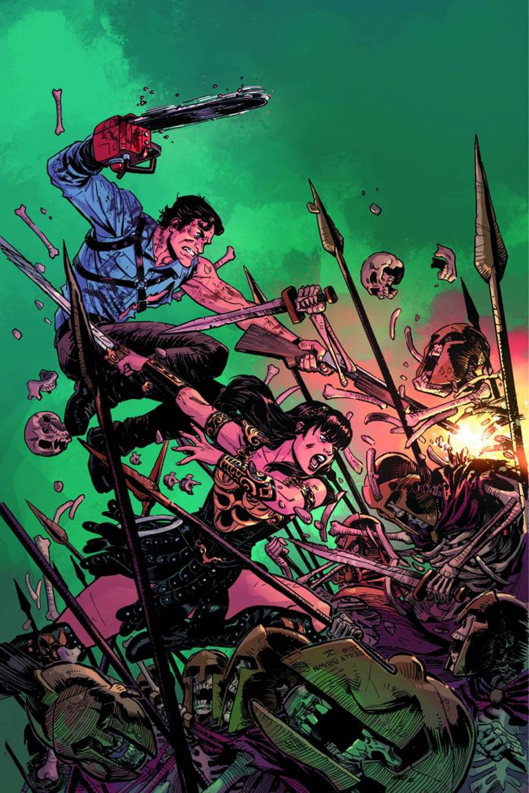 Army Of Darkness Xena Forever And A Day #1 (Cover F Reilly Brown Virgin Variant)