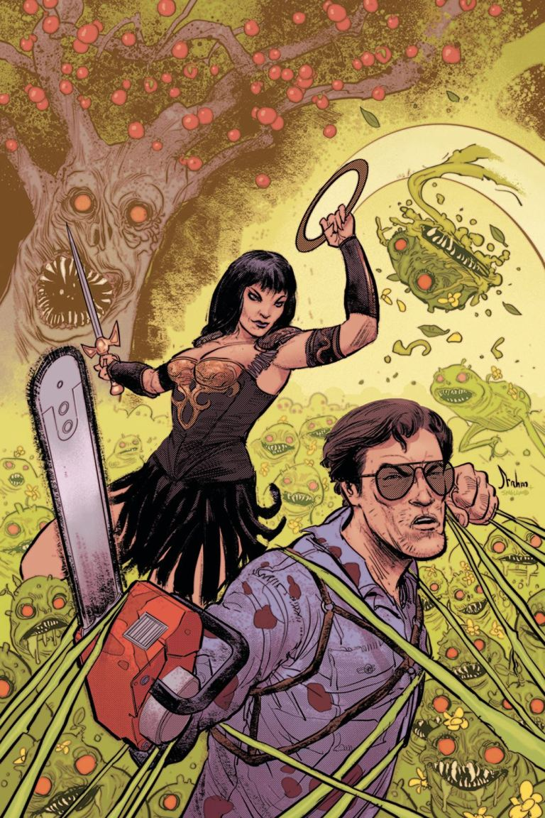 Army of Darkness Xena Forever... And A Day #5 (Cover B Kyle Strahm Virgin Variant)