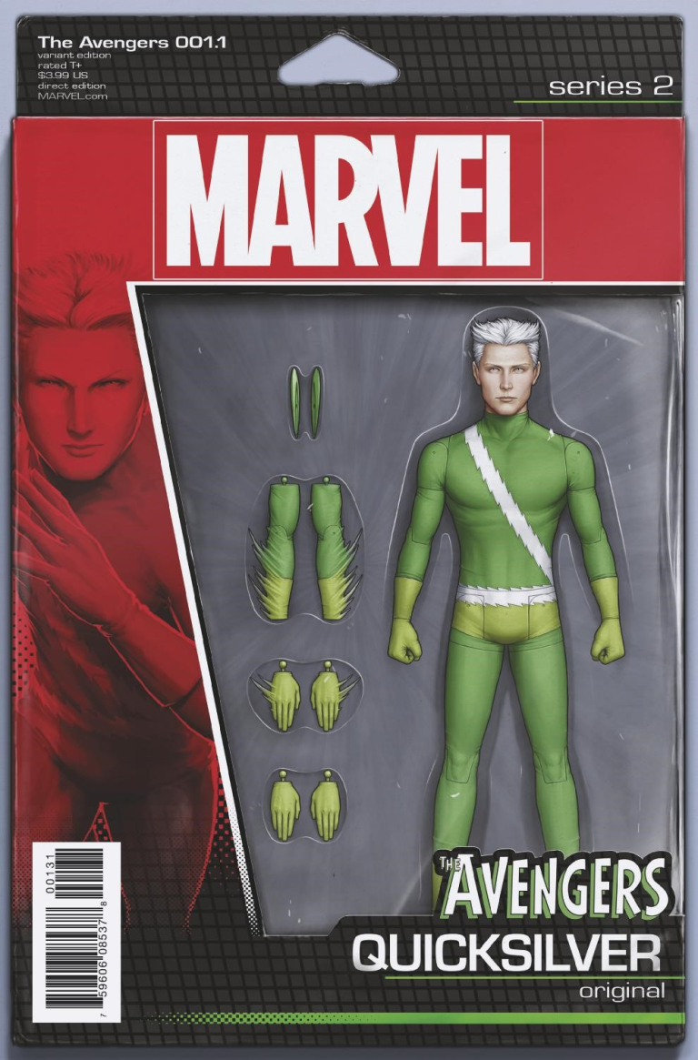 Avengers #1.1 (John Tyler Christopher Action Figure Quicksilver Variant Cover)