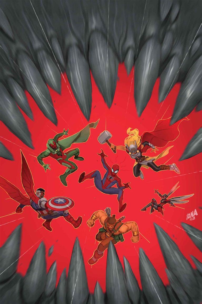 Avengers #1.MU (David Nakayama Regular Cover)