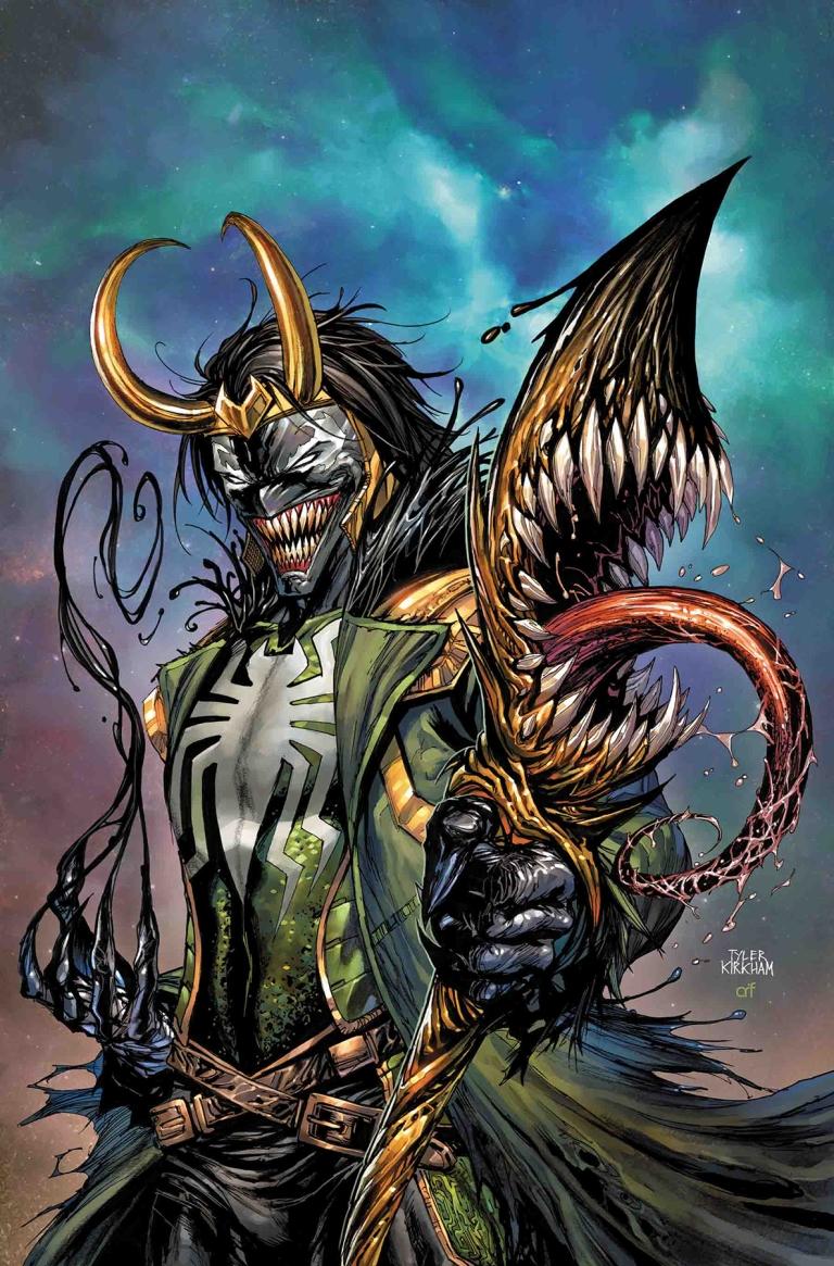Avengers #11 (Cover B Tyler Kirkham Venomized Loki Variant)