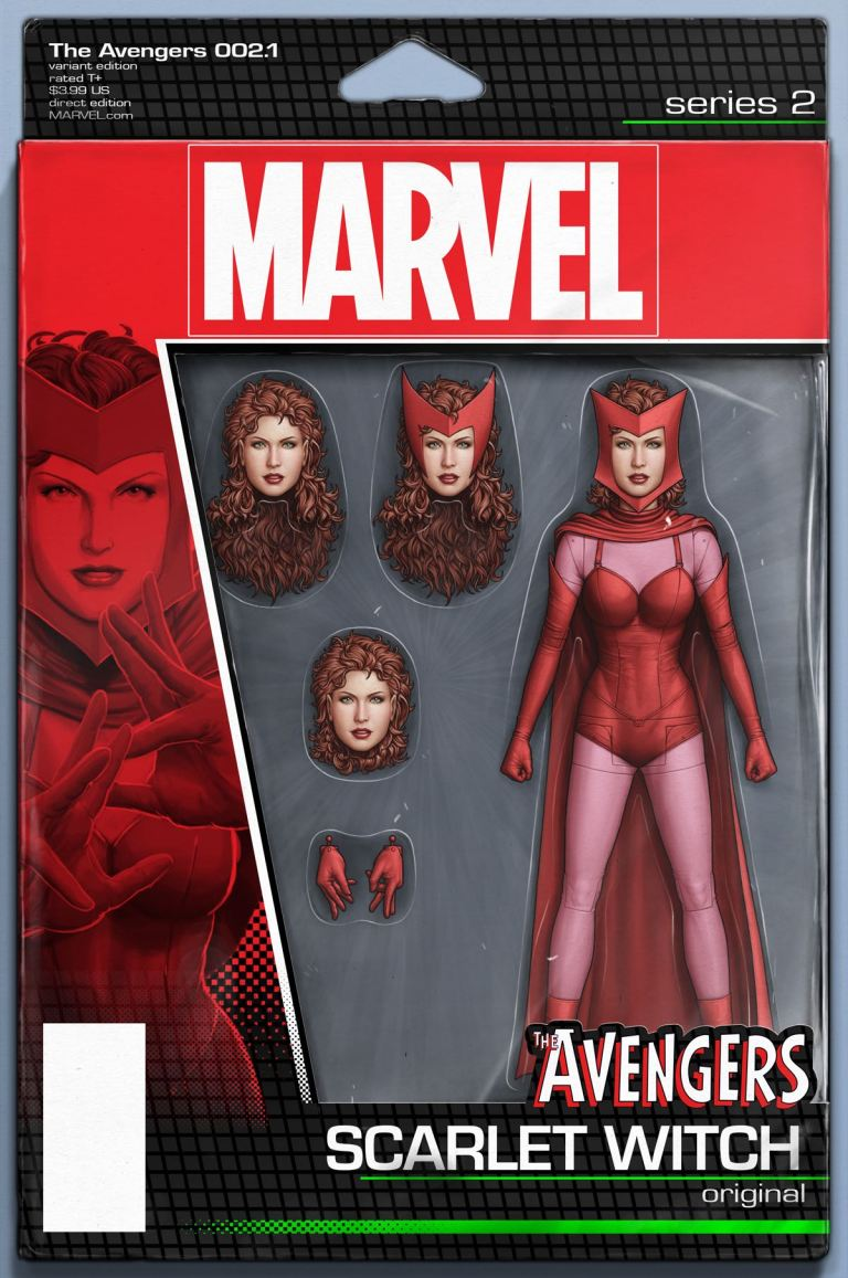 Avengers #2.1 (John Tyler Christopher Action Figure Variant Cover)