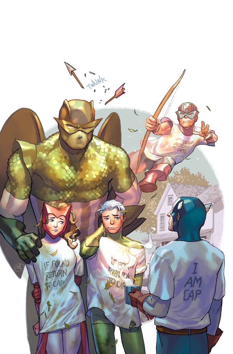 Avengers #2.1 (Yasmine Putri Variant Cover)