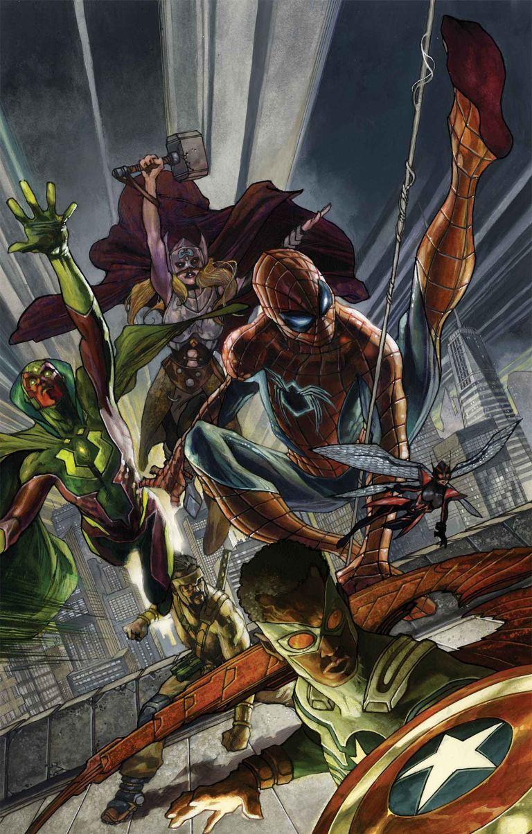 Avengers #2 (Simone Bianchi Variant Cover)