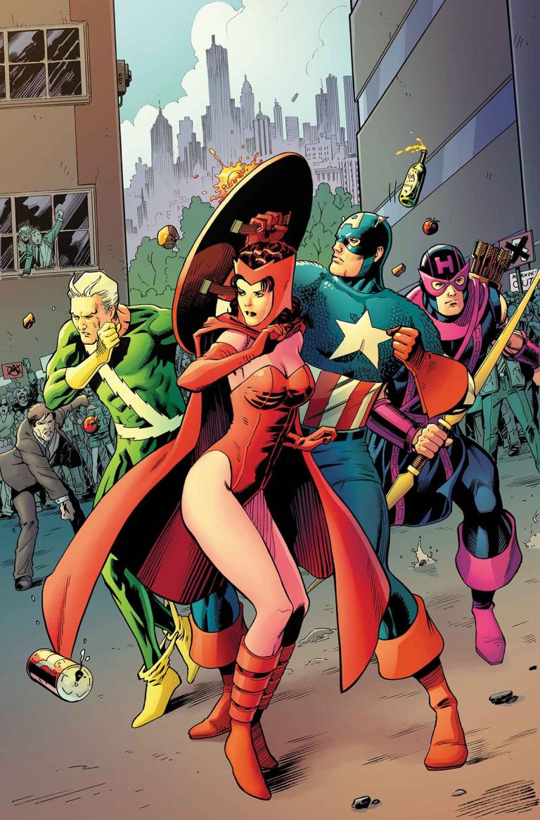 Avengers #3.1 (Barry Kitson Regular Cover)