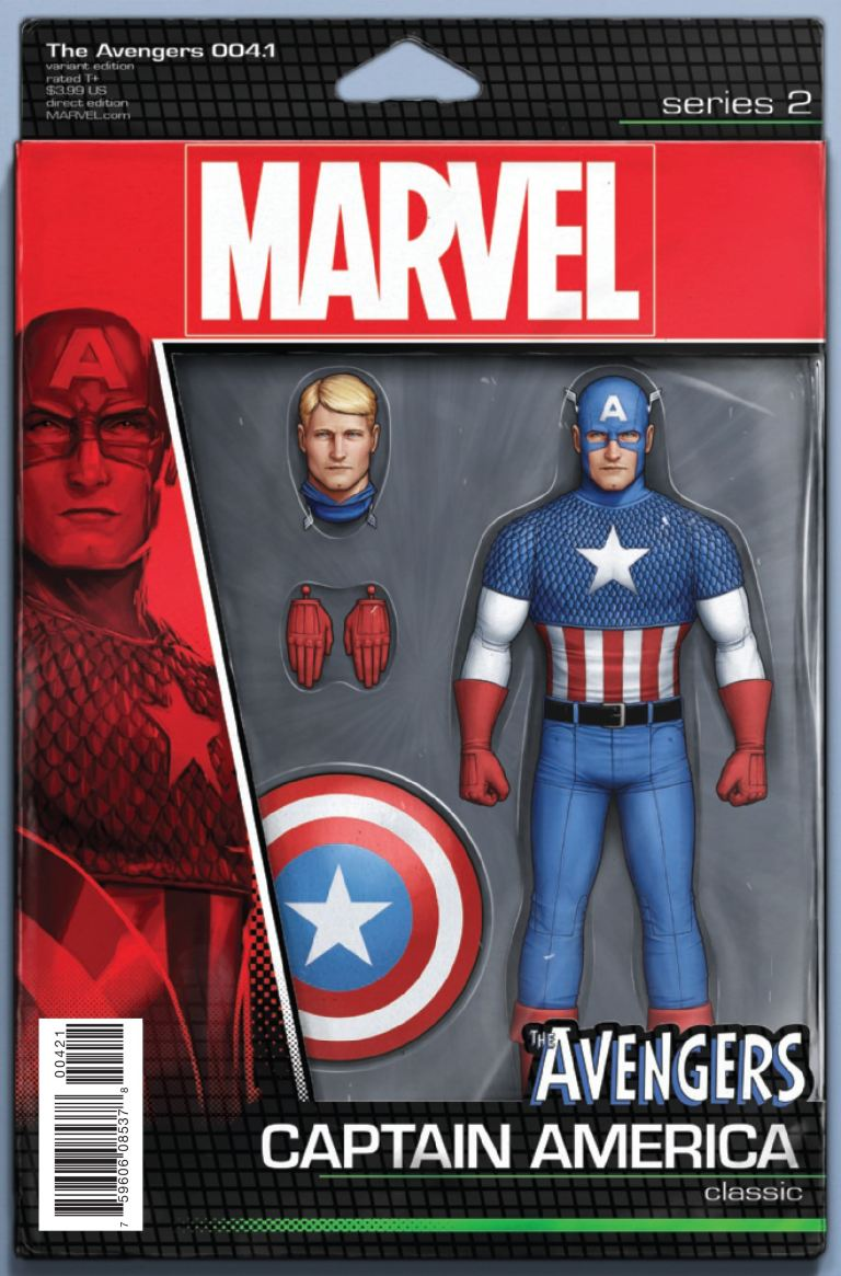 Avengers #4.1 (John Tyler Christopher Action Figure Variant Cover)