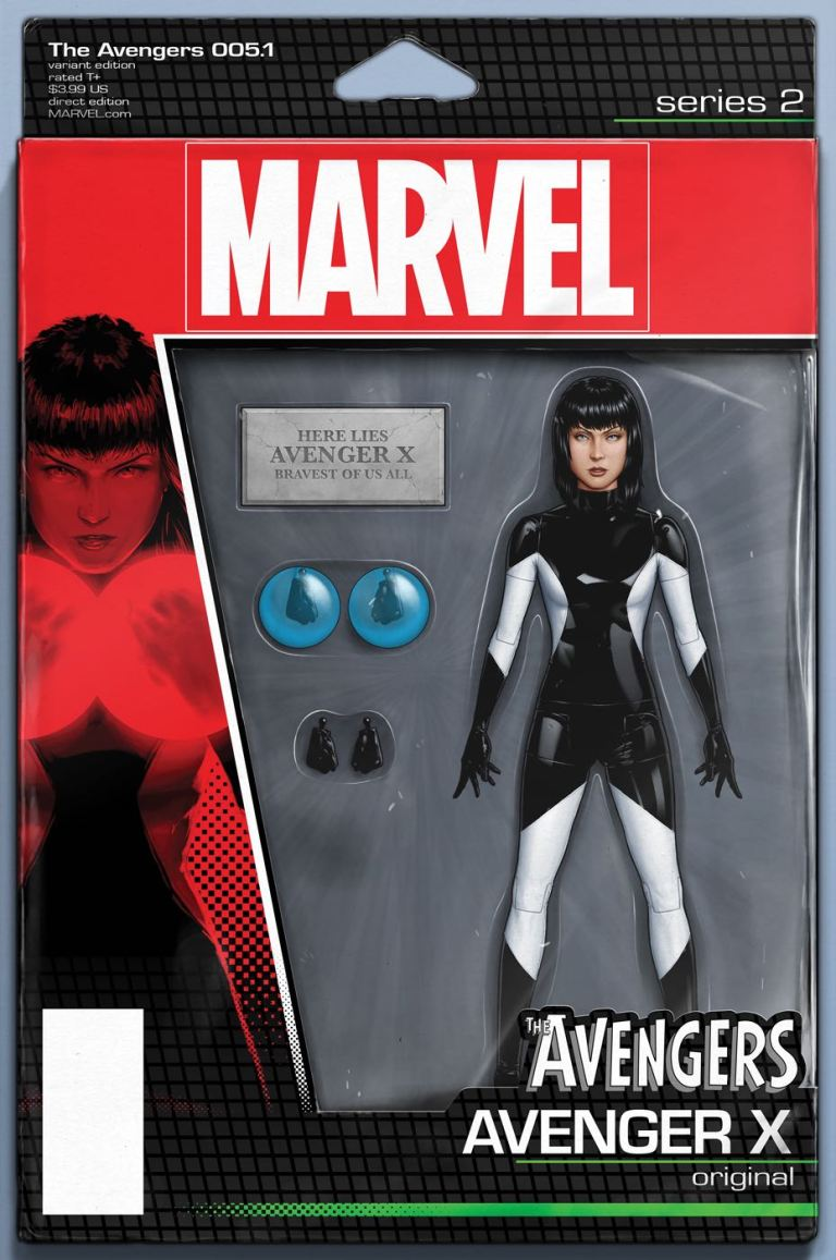 Avengers #5.1 (John Tyler Christopher Action Figure Variant Cover)