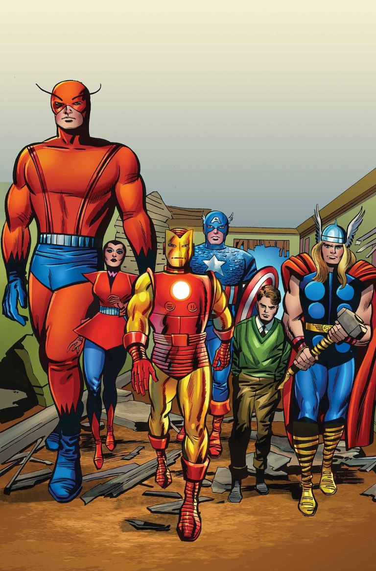 Avengers #672 (Cover D Jack Kirby 100th Birthday Variant)