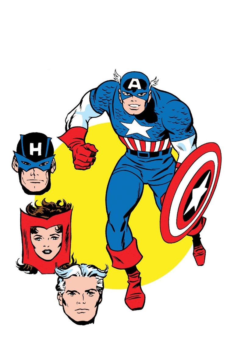 Avengers #672 (Cover E Jack Kirby & Don Heck 1965 T-Shirt Variant)