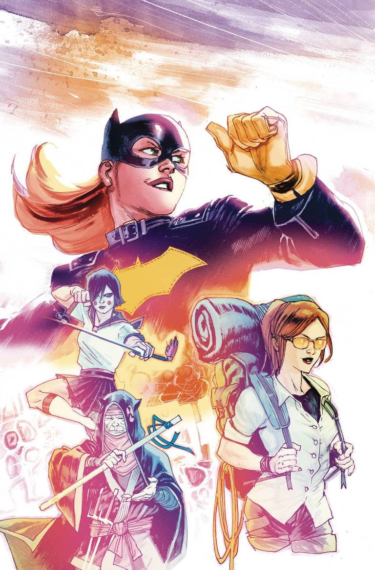 Batgirl #1 (Cover A Rafael Albuquerque)