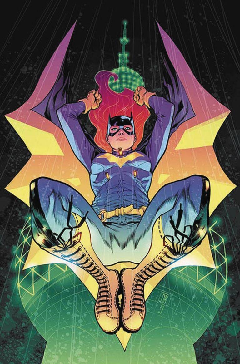 Batgirl #4 (Cover B Francis Manapul)
