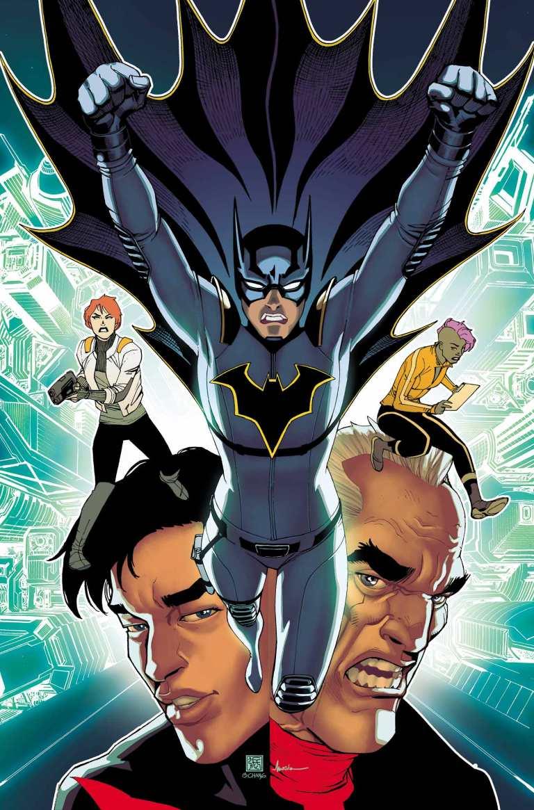 Batman Beyond #12 (Cover A Bernard Chang)