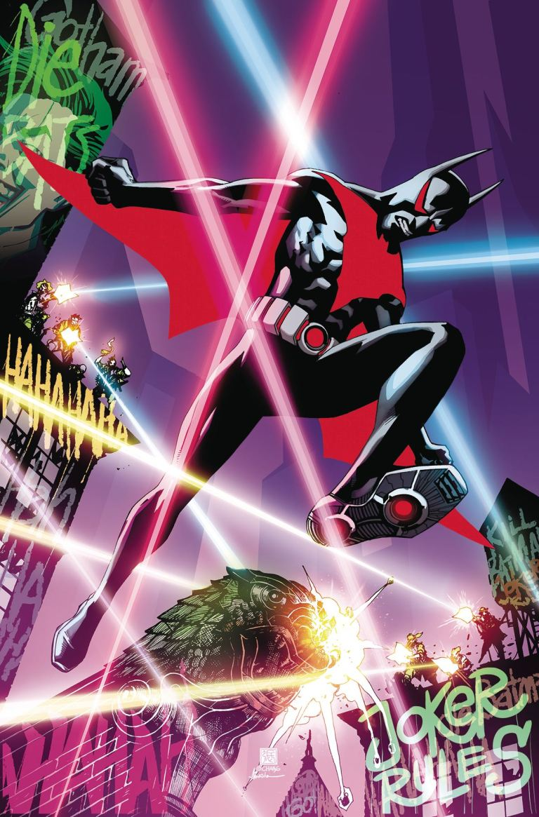 Batman Beyond #3 (Cover A Bernard Chang)