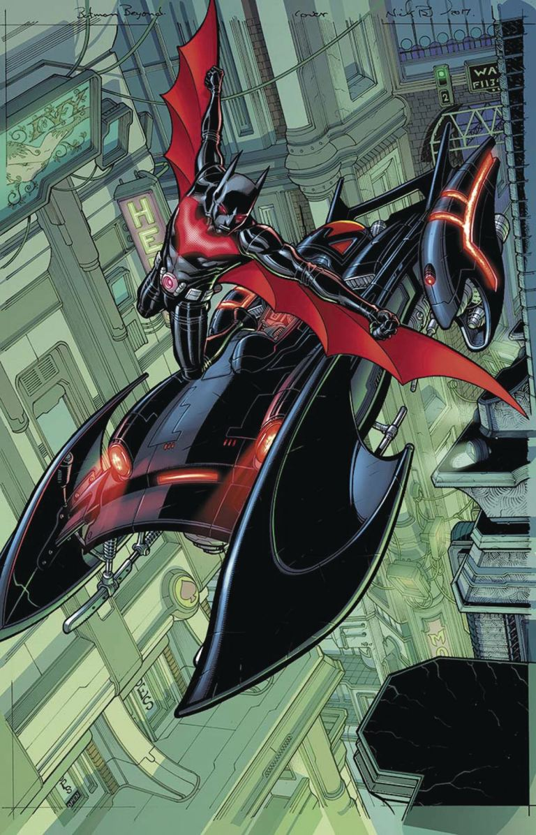 Batman Beyond #5 (Cover B Martin Ansin)