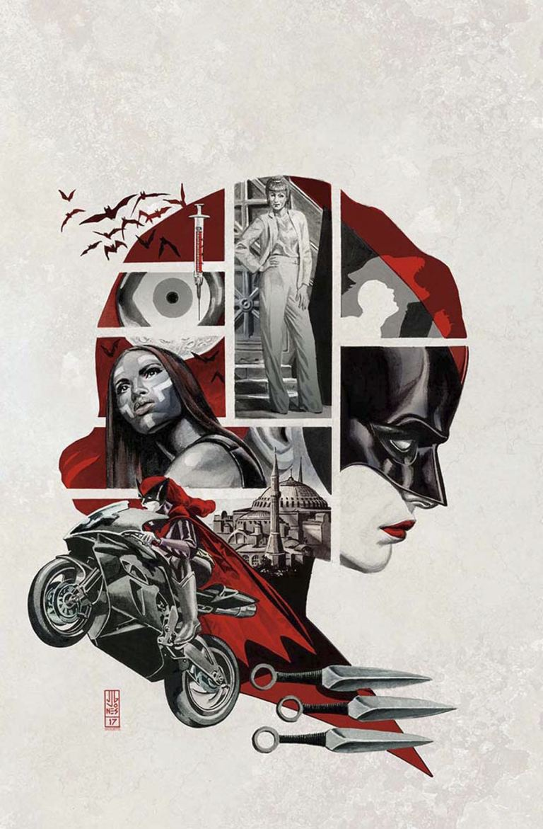 Batwoman #1 (Cover B J. G. Jones)