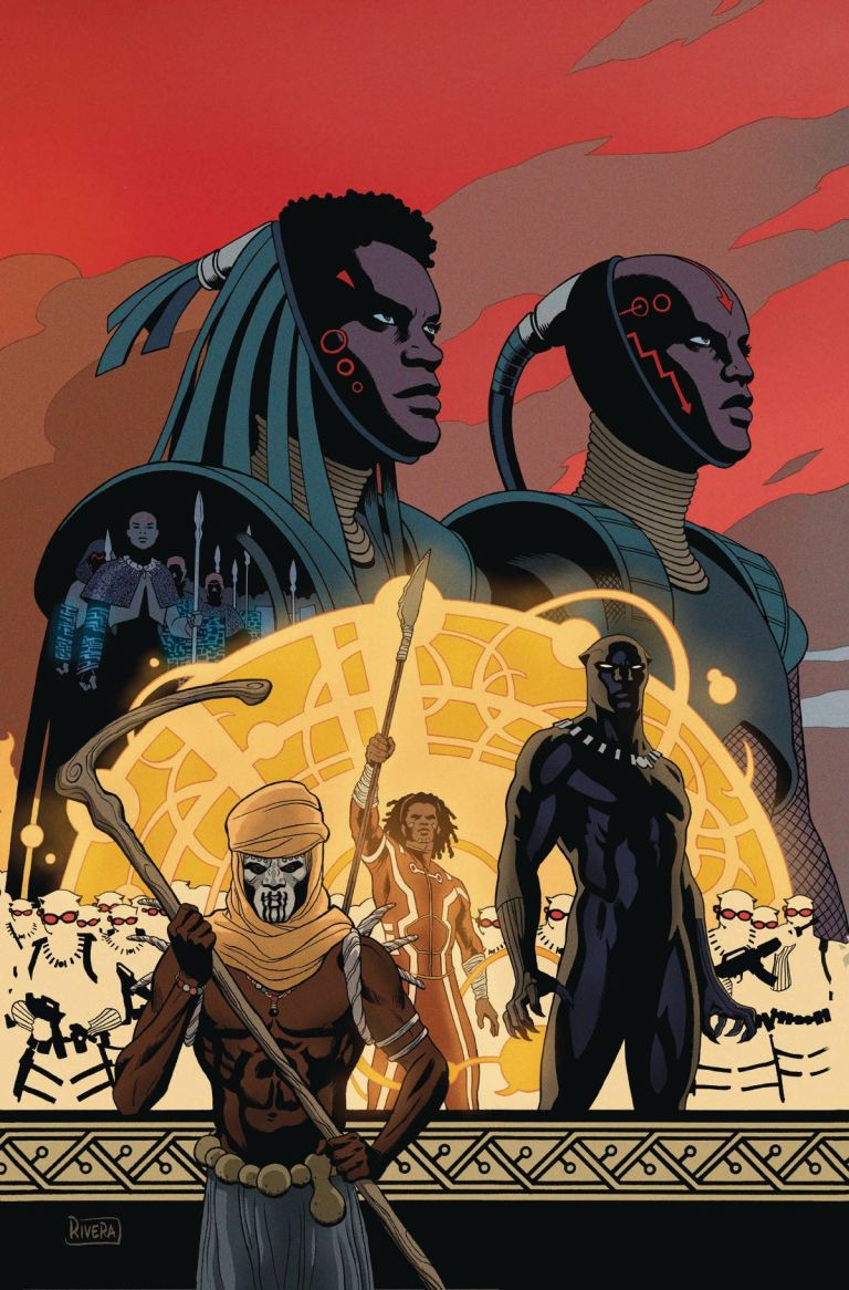 Black Panther #10 (Cover A Paolo Rivera Connecting Variant)