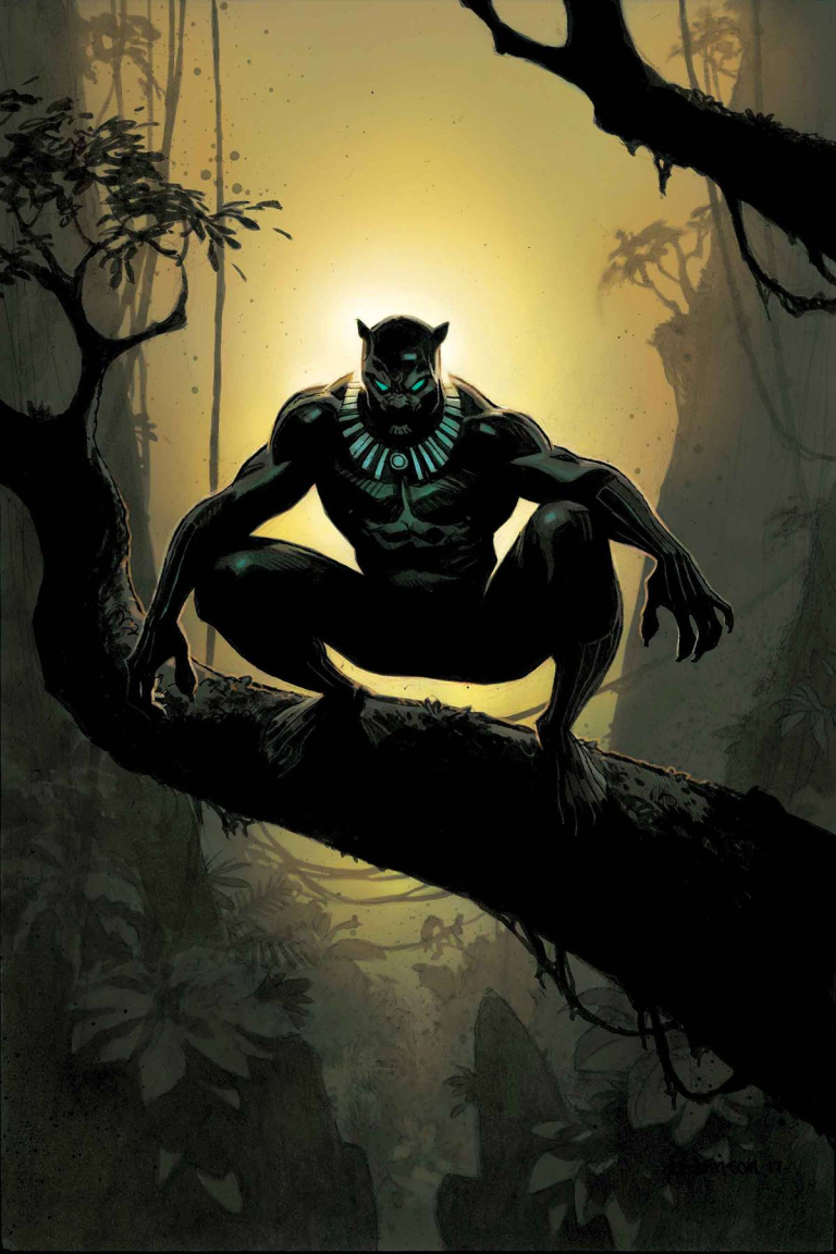 Black Panther #14 (Cover C Andrew Robinson)