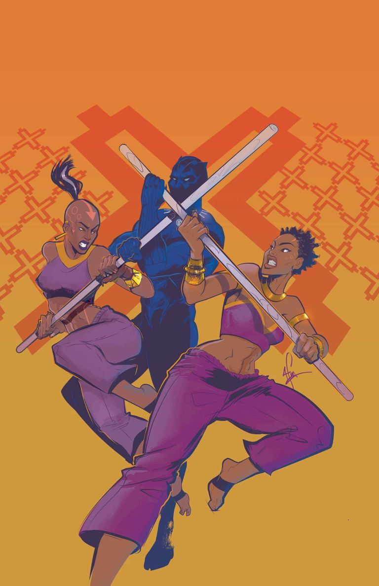 Black Panther World of Wakanda #2 (Afua Richardson Regular Cover)