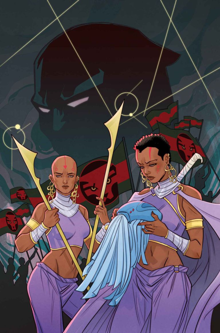 Black Panther World of Wakanda #2 (Marguerite Sauvage Variant Cover)