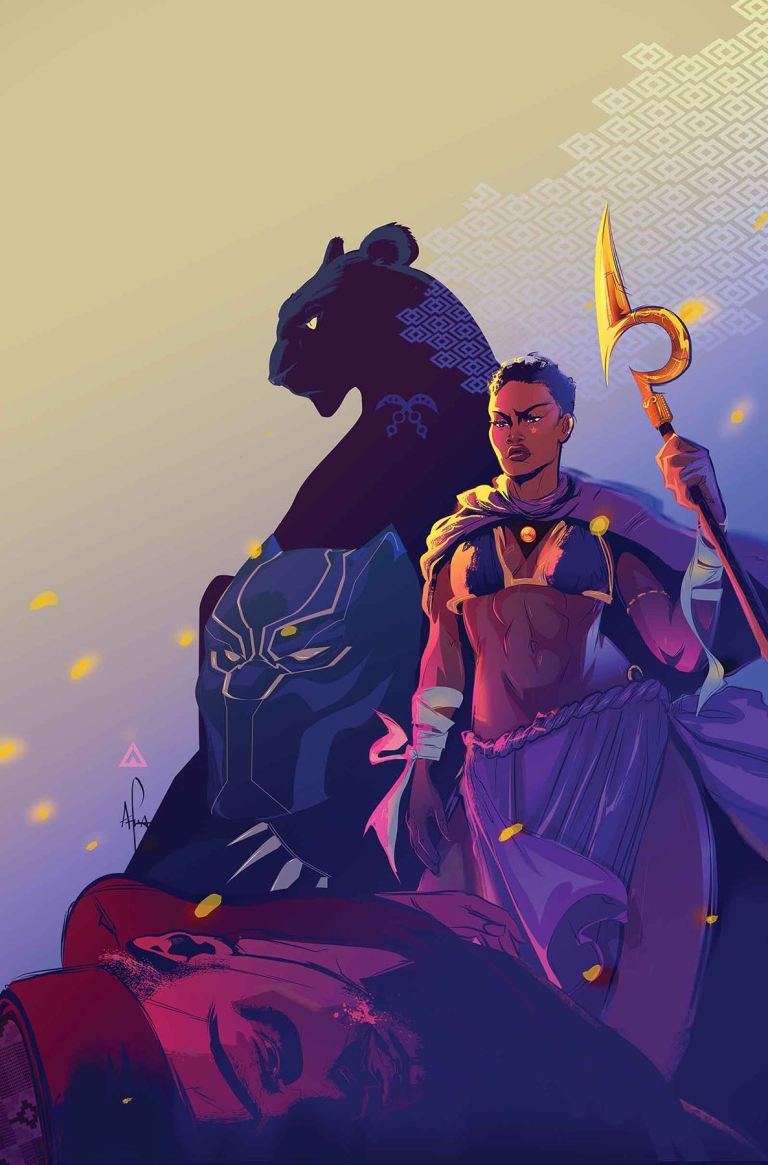 Black Panther World of Wakanda #4 (Afua Richardson Cover)