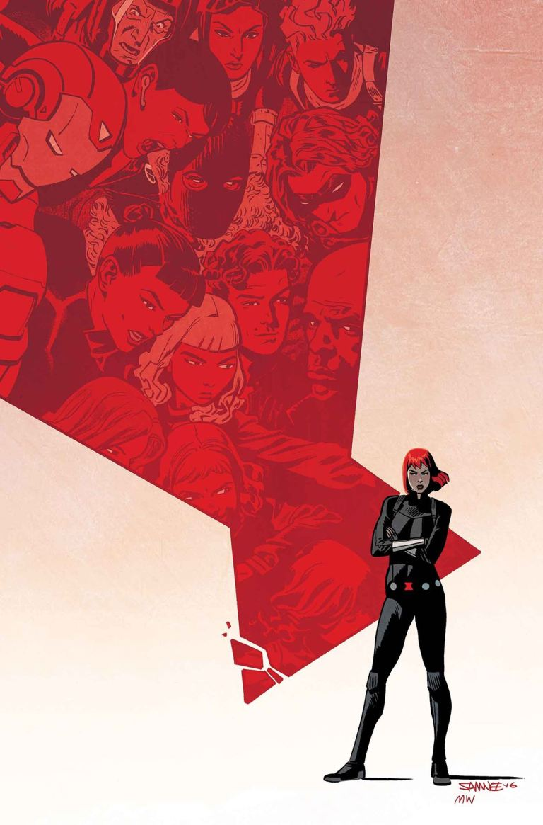 Black Widow #11 (Chris Samnee Cover)