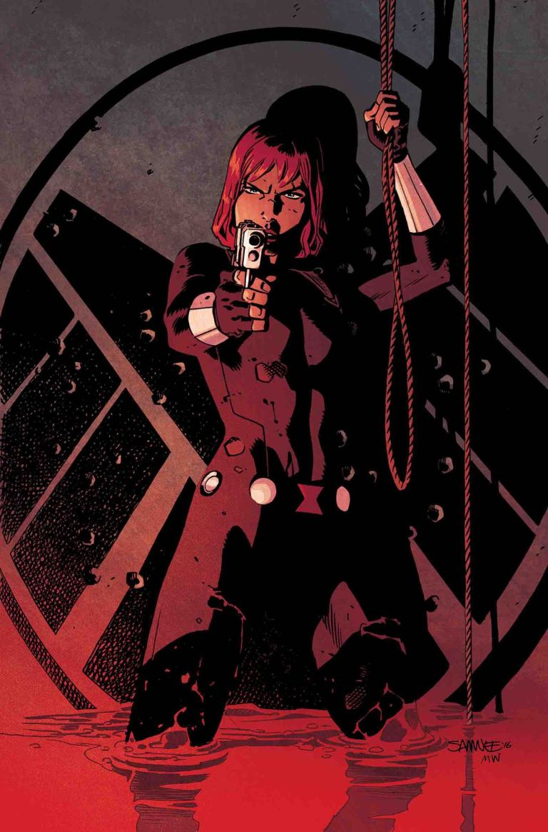 Black Widow #12 (Chris Samnee Cover)