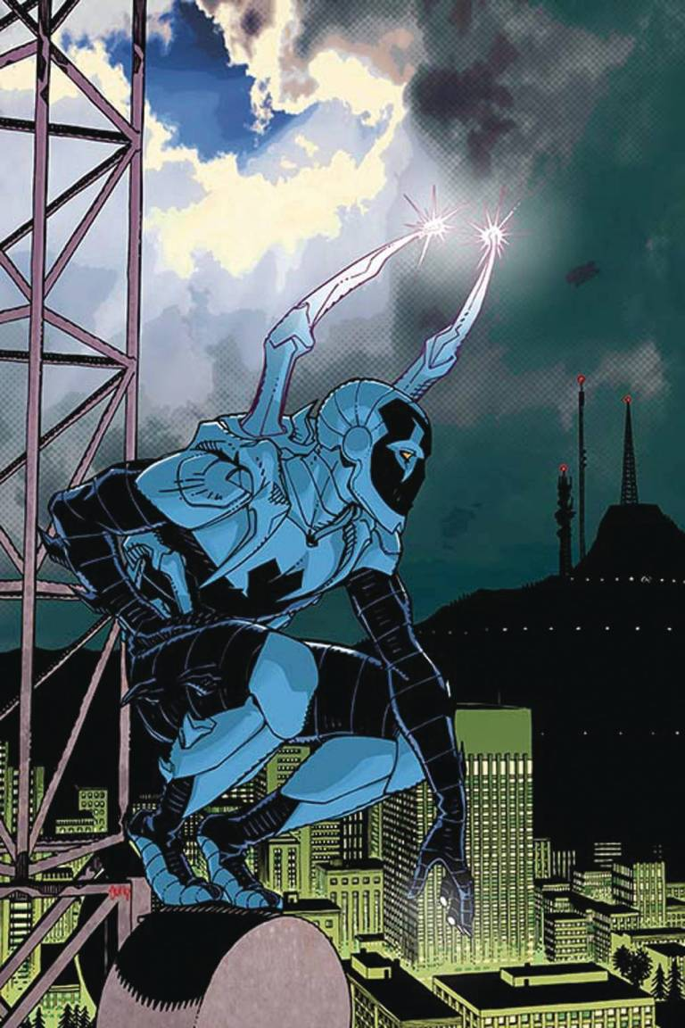 Blue Beetle #4 (Cover B Cully Hamner)