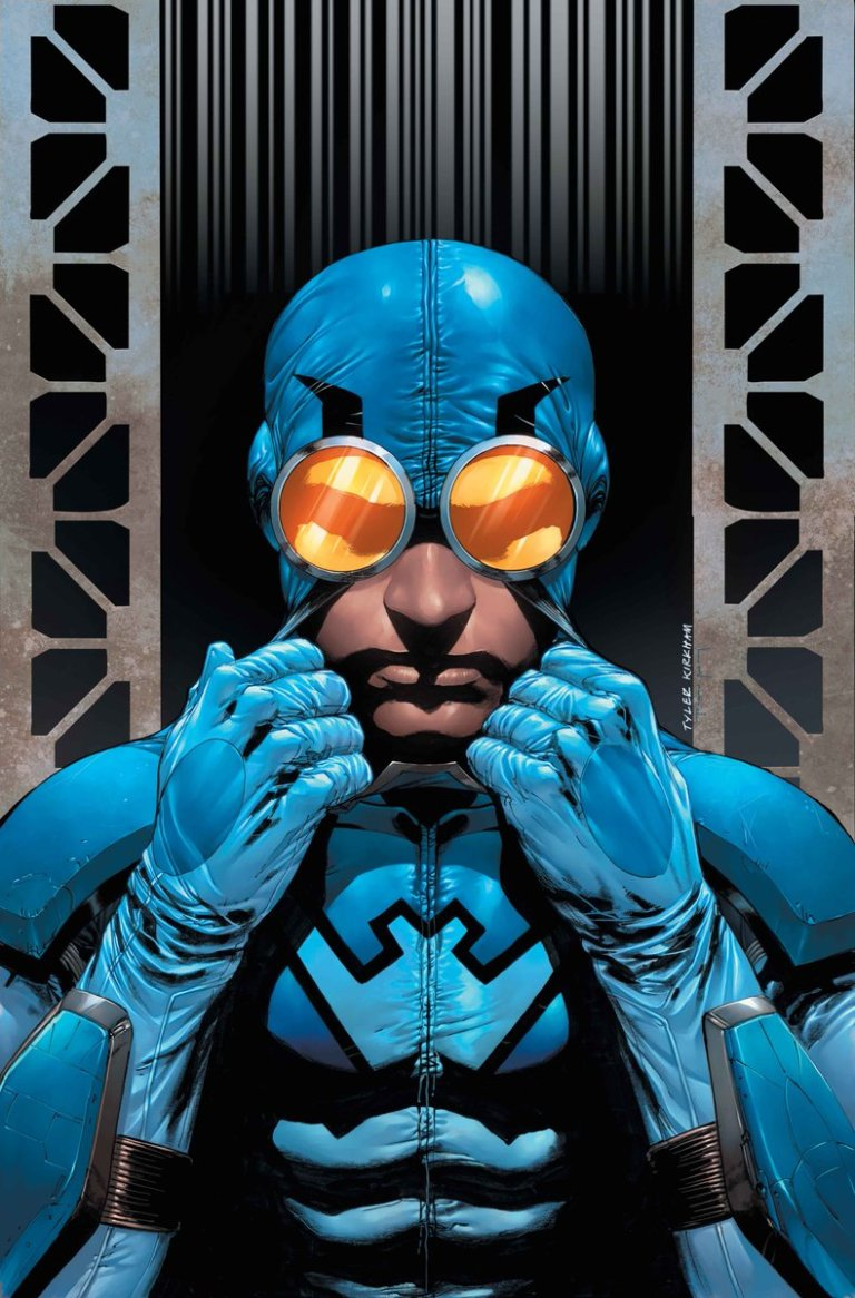 Blue Beetle #8 (Cover B Cully Hamner)