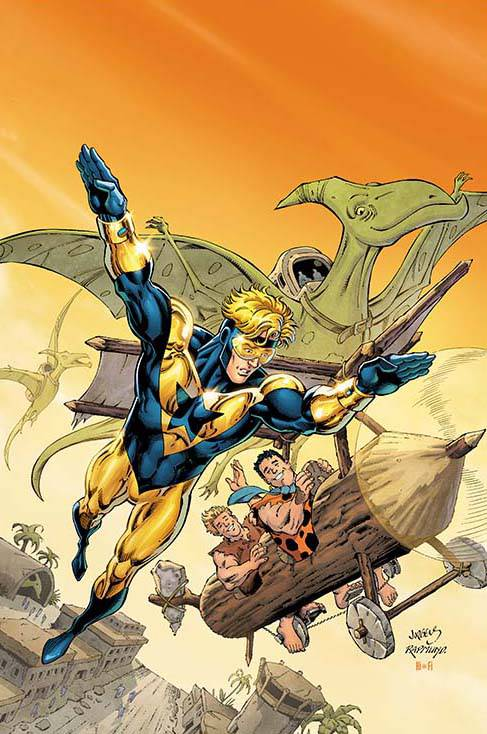 Booster Gold The Flintstones Special #1 (Cover B Dan Jurgens & Norm Rapmund)