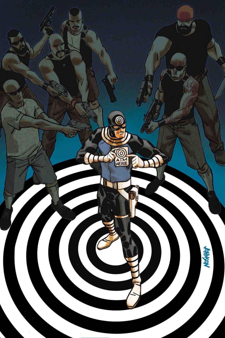 Bullseye #2 (Dave Johnson Regular Cover)