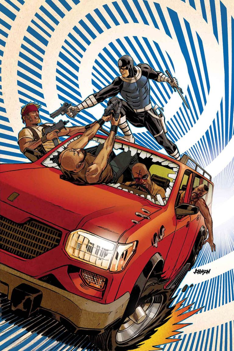 Bullseye #3 (Dave Johnson Cover)