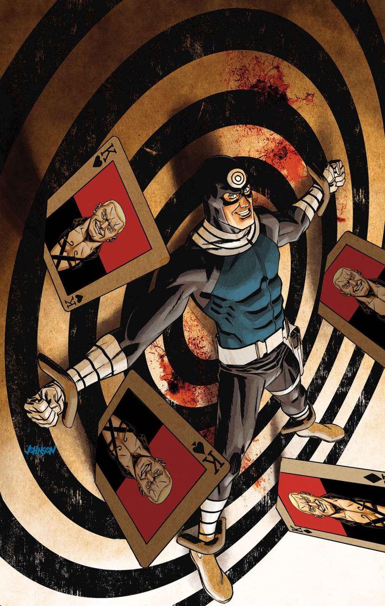 Bullseye #4 (Dave Johnson Cover)