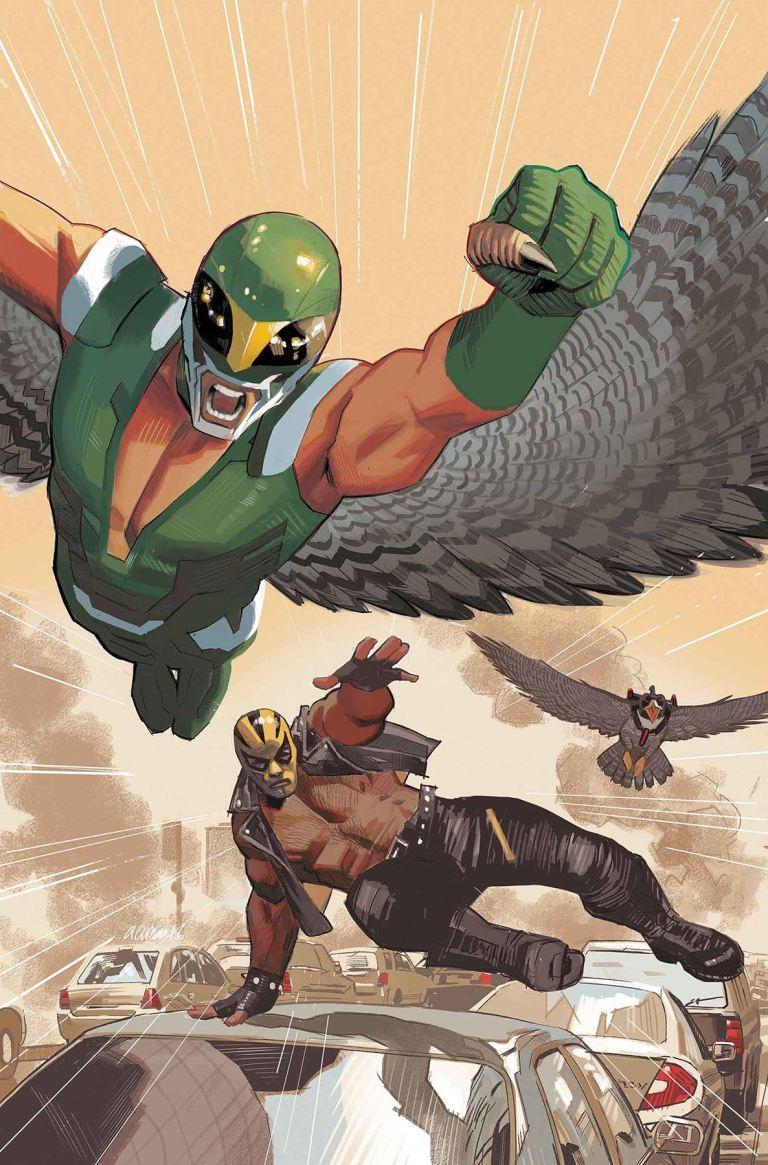 Captain America Sam Wilson #17 (Daniel Acuna Cover)
