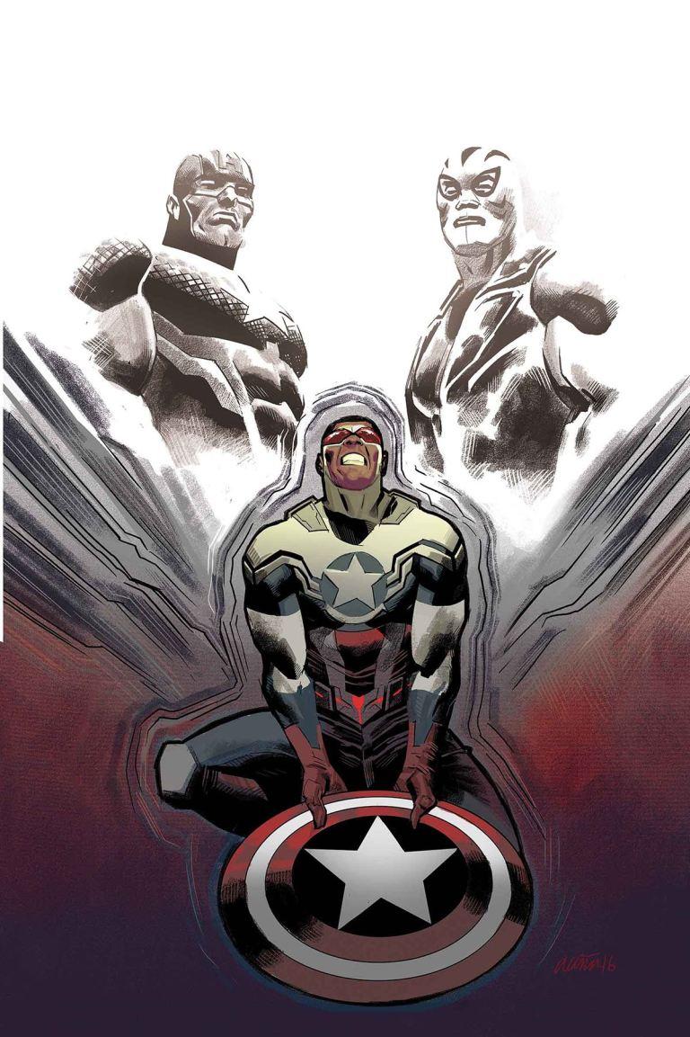 Captain America Sam Wilson #18 (Daniel Acuna Cover)