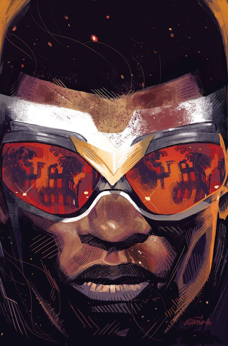 Captain America Sam Wilson #19 (Daniel Acuna Cover)