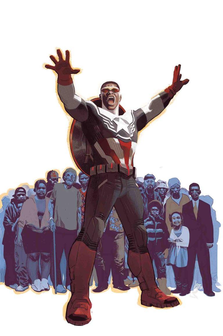 Captain America= Sam Wilson #20 (Daniel Acuna Cover)