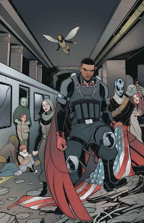 Captain America Sam Wilson #22 (Elizabeth Torque Cover)
