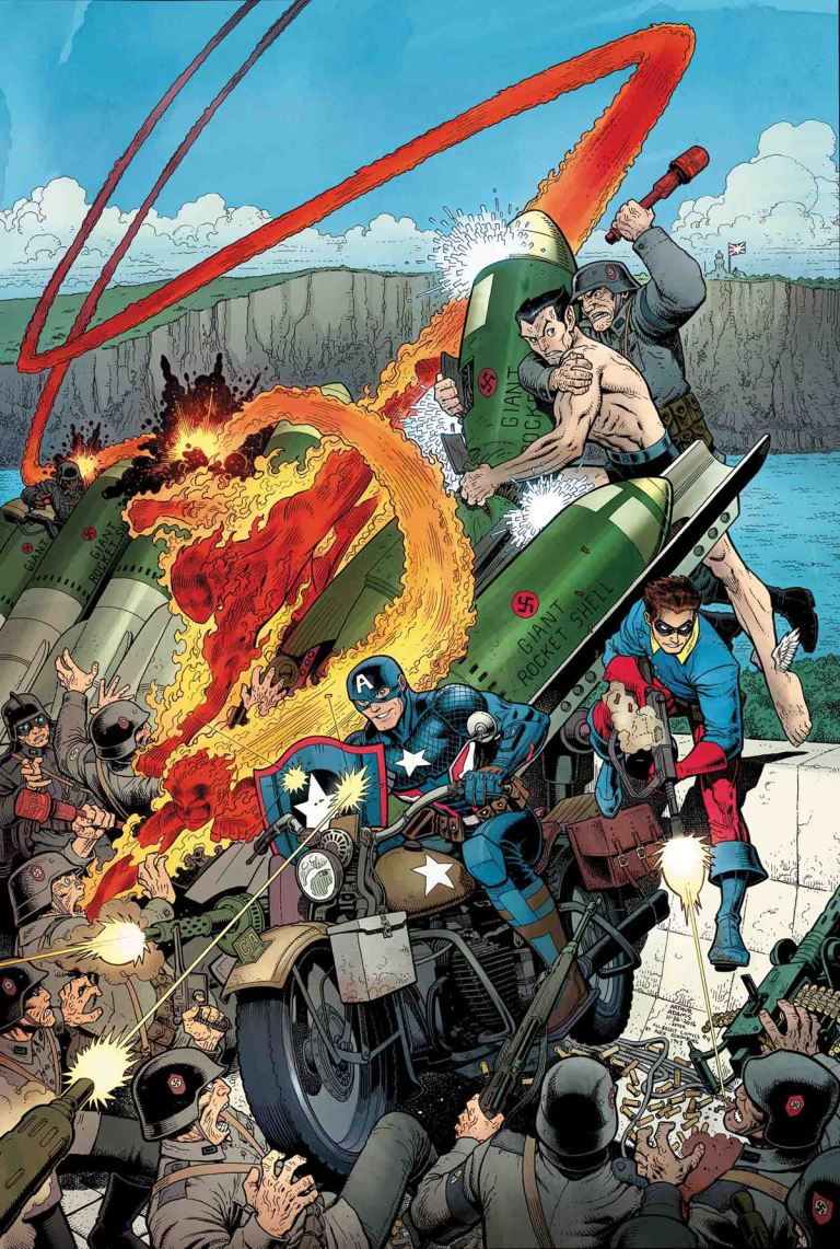 Captain America= Steve Rogers #13 (Arthur Adams Regular Cover)