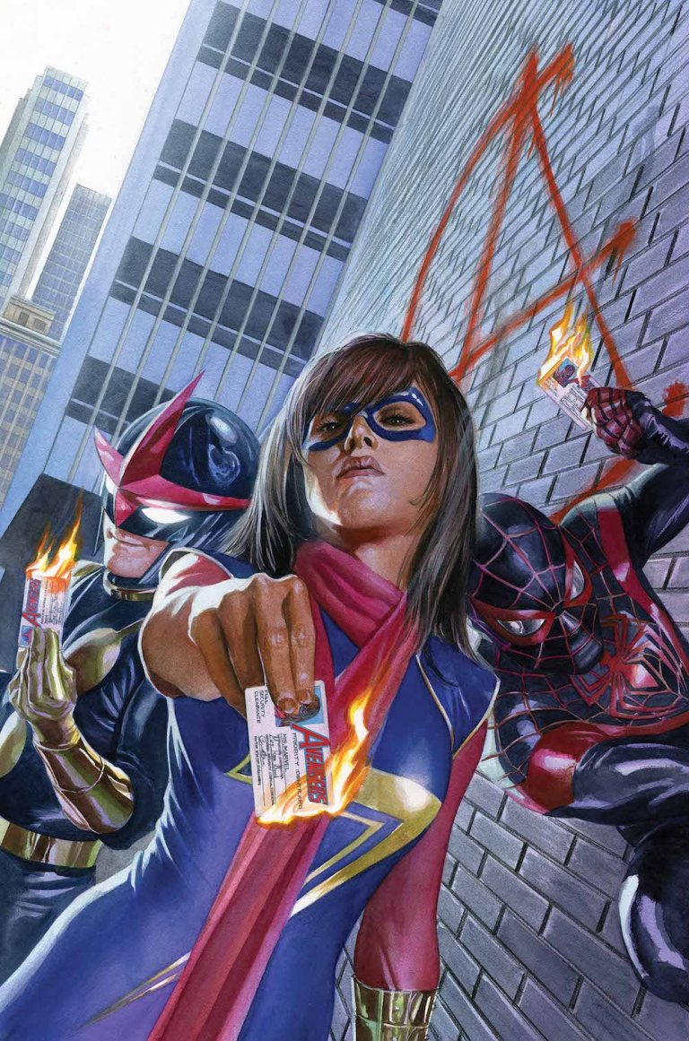 Champions #1 (Alex Ross Variant Cover)