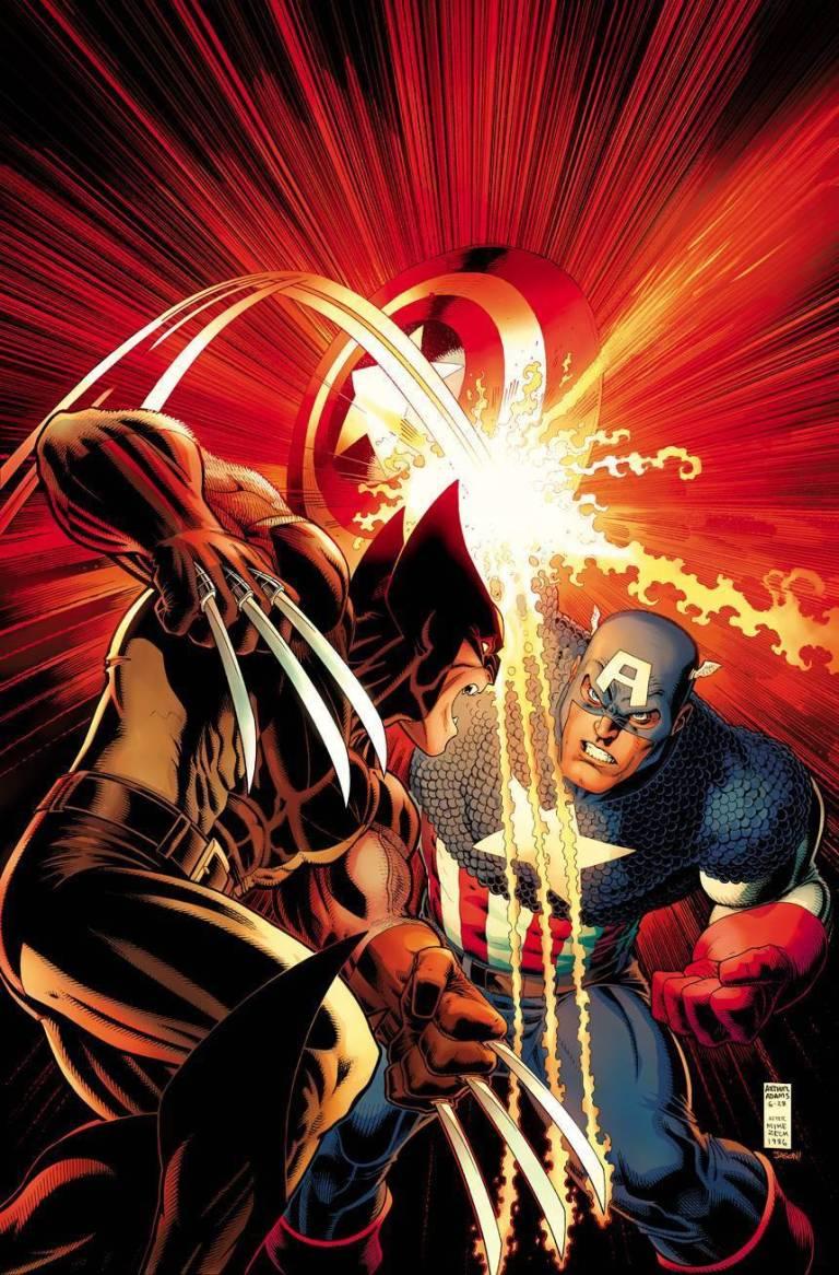 Champions #1 (Arthur Adams Captain America 75th Anniversary Variant Cover)